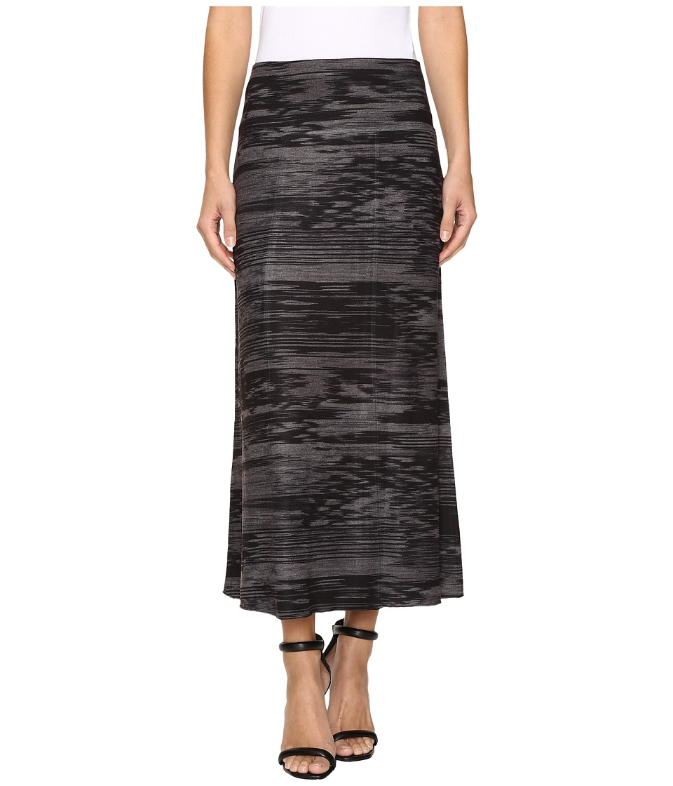 Nally & Millie - Printed Reversible Midi Skirt (Multi) Women's Skirt
