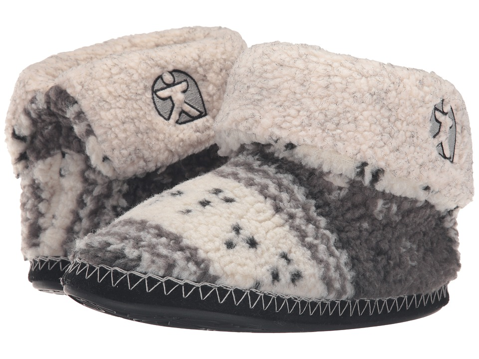 Bedroom Athletics - Wahlberg (Grey/Red) Men's Slippers