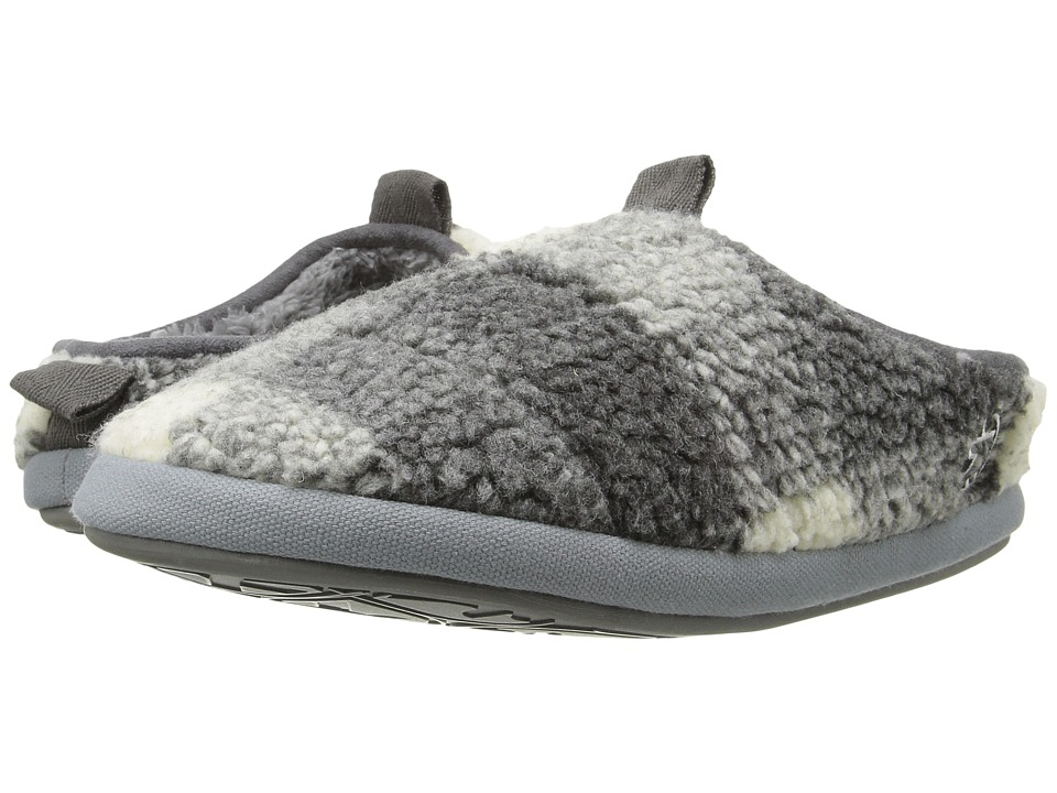 Bedroom Athletics - Gibson (Grey/White) Men's Slippers