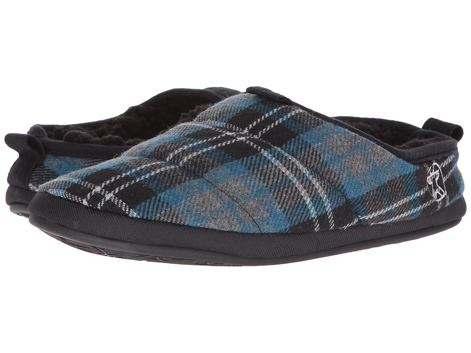 Bedroom Athletics - Bale (Airforce Blue Check) Men's Slippers