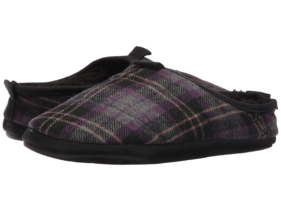 Bedroom Athletics - Bale (Plum Check) Men's Slippers