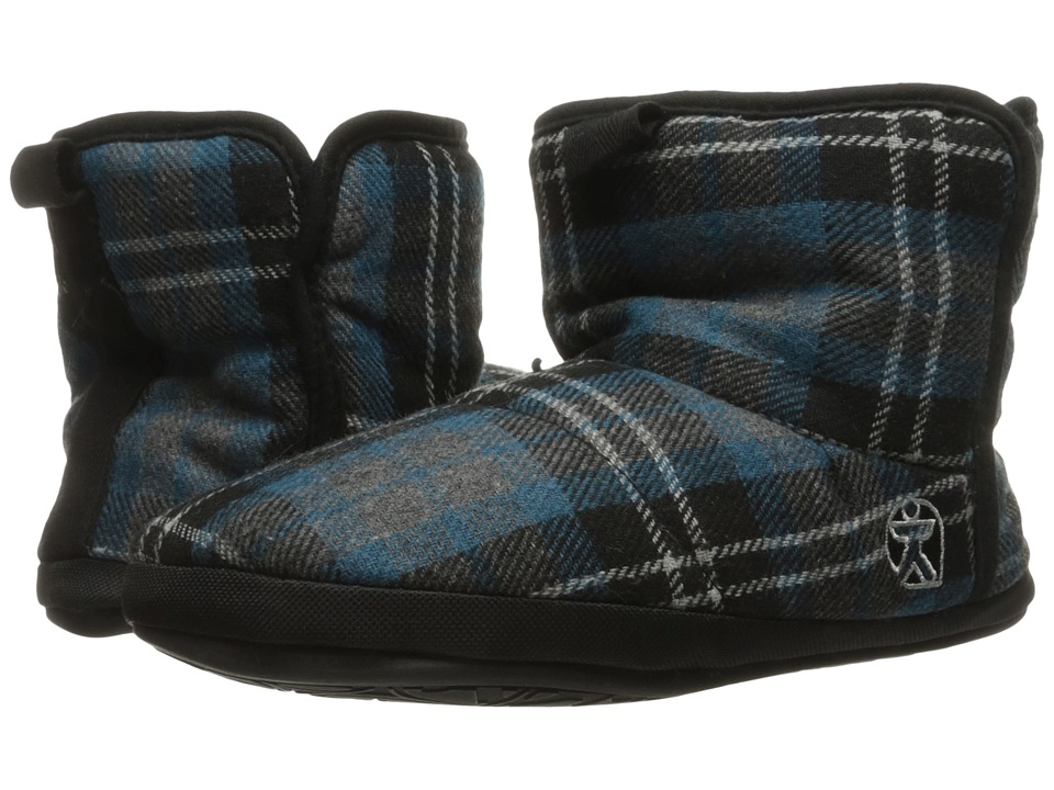Bedroom Athletics - Depp (Airforce Blue Check) Men's Slippers
