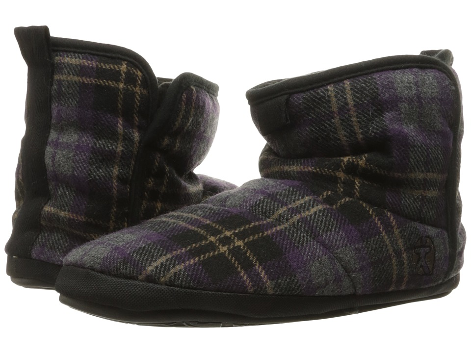 Bedroom Athletics - Depp (Plum Check) Men's Slippers