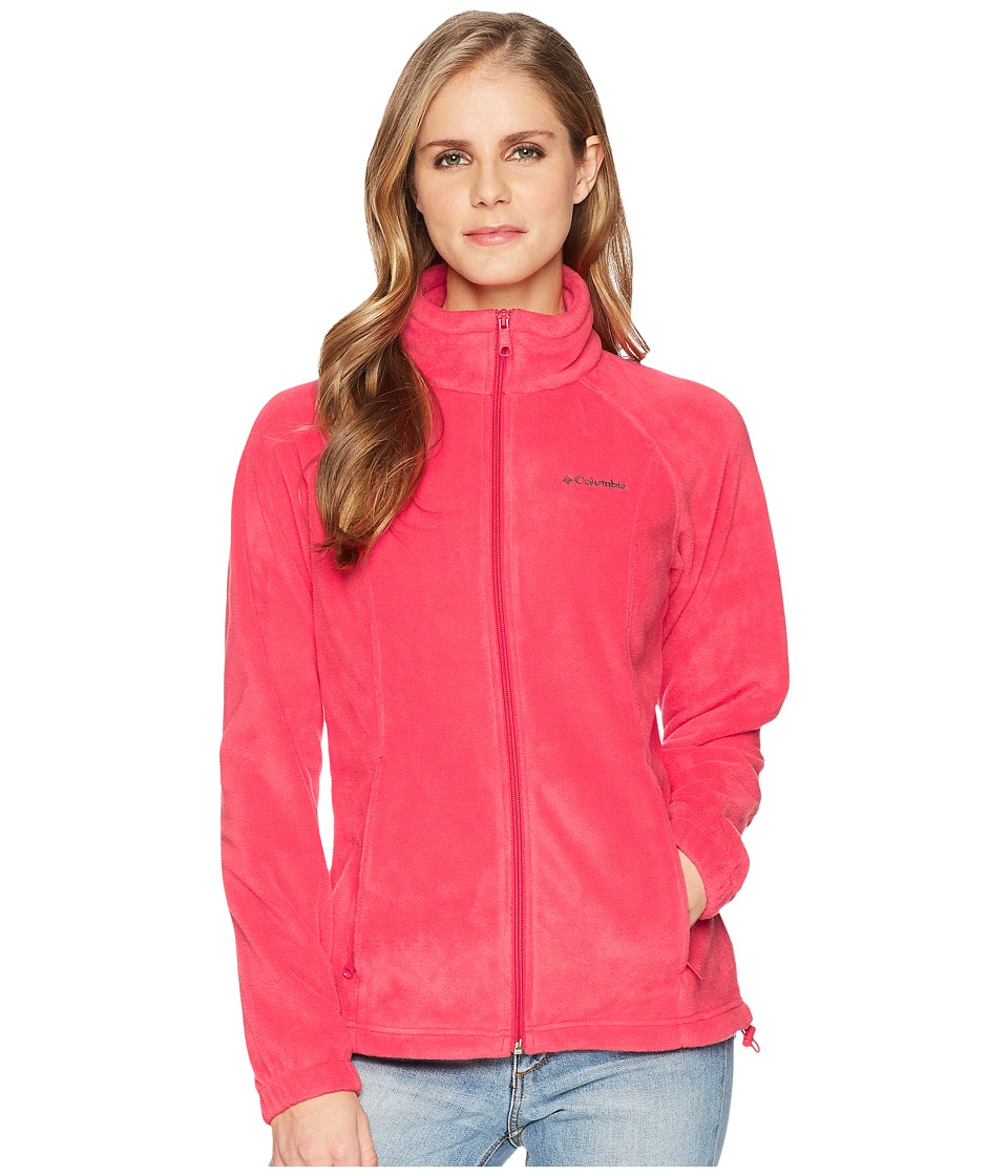 Columbia Benton Springstm Full Zip (Red Camellia) Women