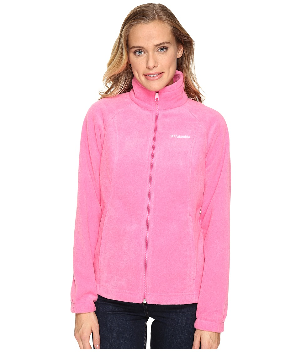 Columbia - Benton Springs Full Zip (Wild Geranium) Women's Jacket