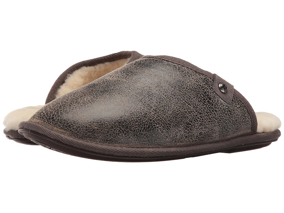 Bedroom Athletics - Keifer (Distressed Tea) Men's Slippers
