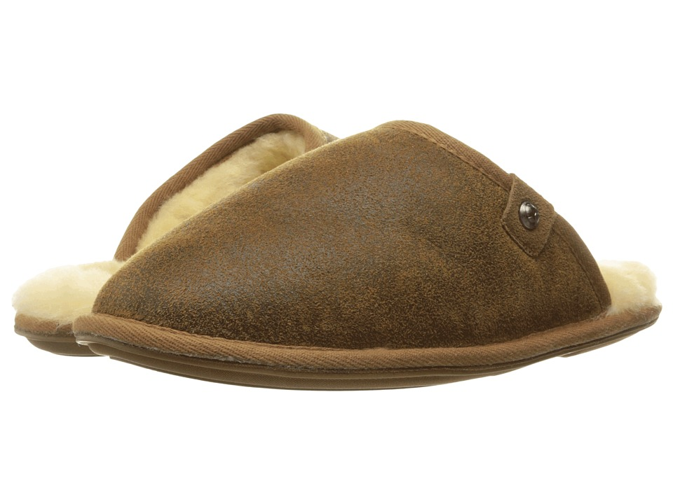 Bedroom Athletics - Keifer (Distressed Coffee) Men's Slippers