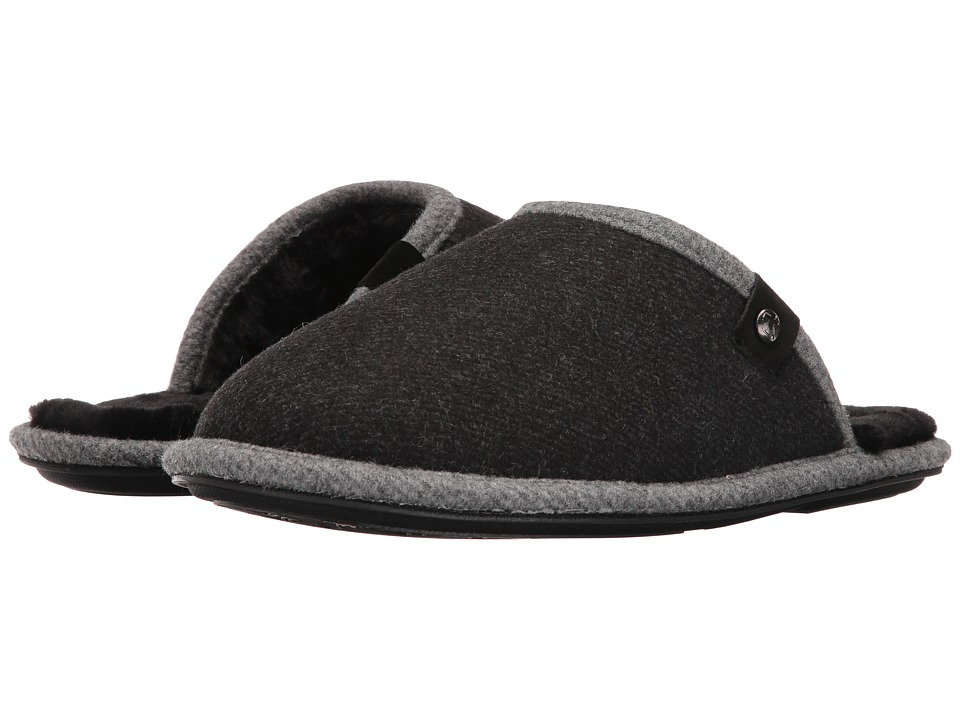 Bedroom Athletics - Spacey (Charcoal Felt) Men's Slippers