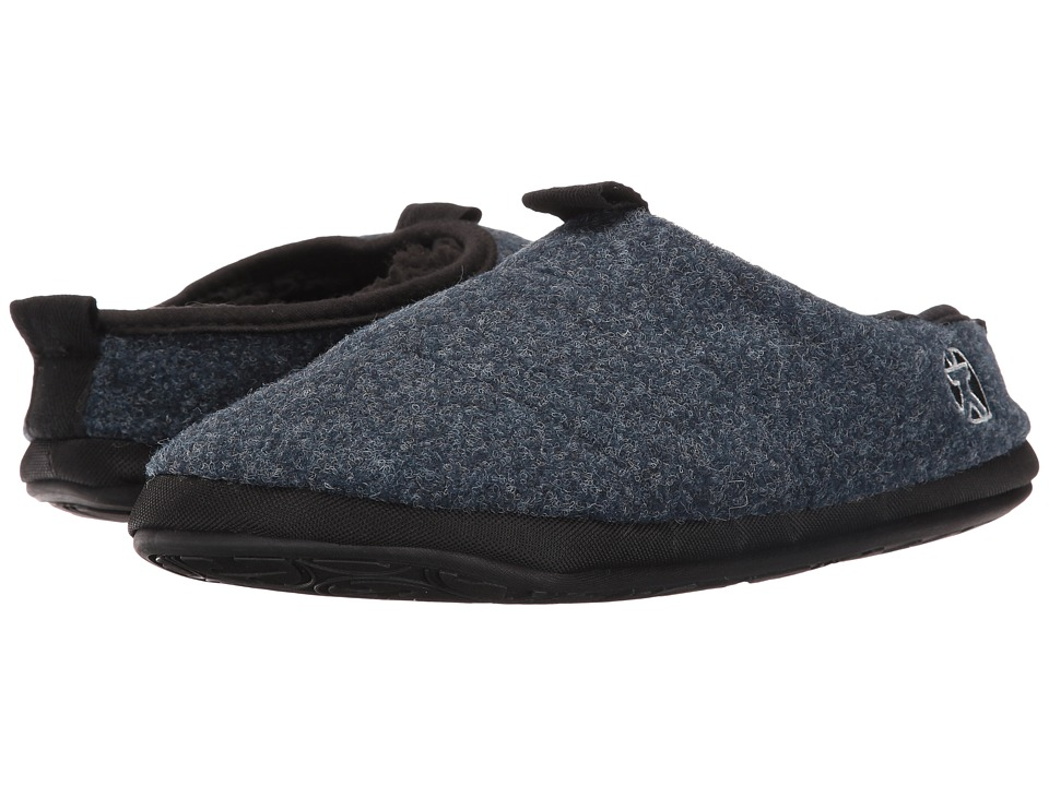 Bedroom Athletics - Travolta (Navy Fleck) Men's Slippers