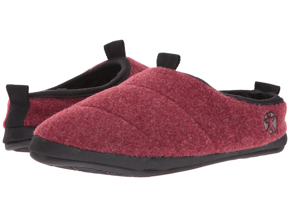 Bedroom Athletics - Travolta (Burgundy Fleck) Men's Slippers