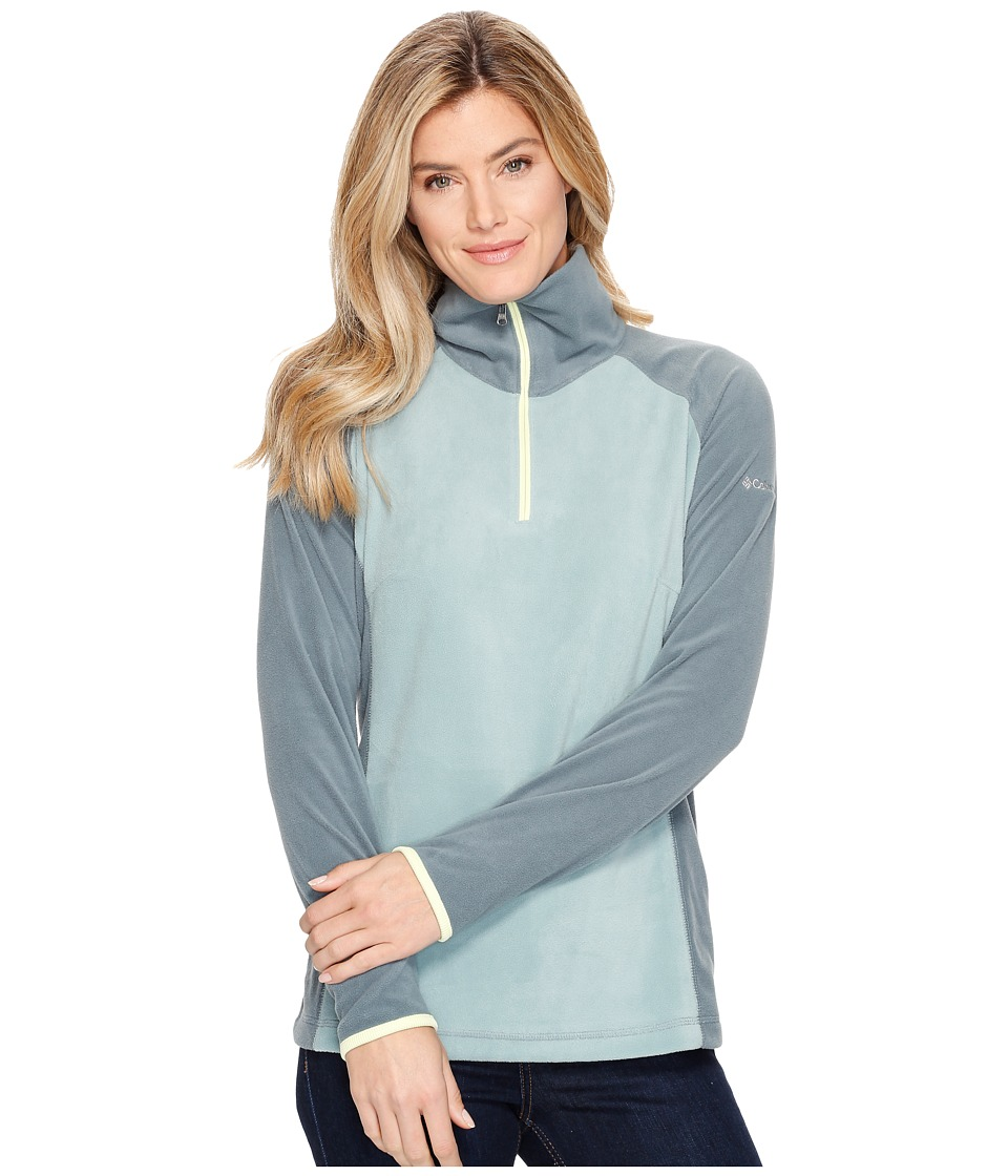Columbia Glacial Fleece III 1/2 Zip (Dusty Green/Pond) Women