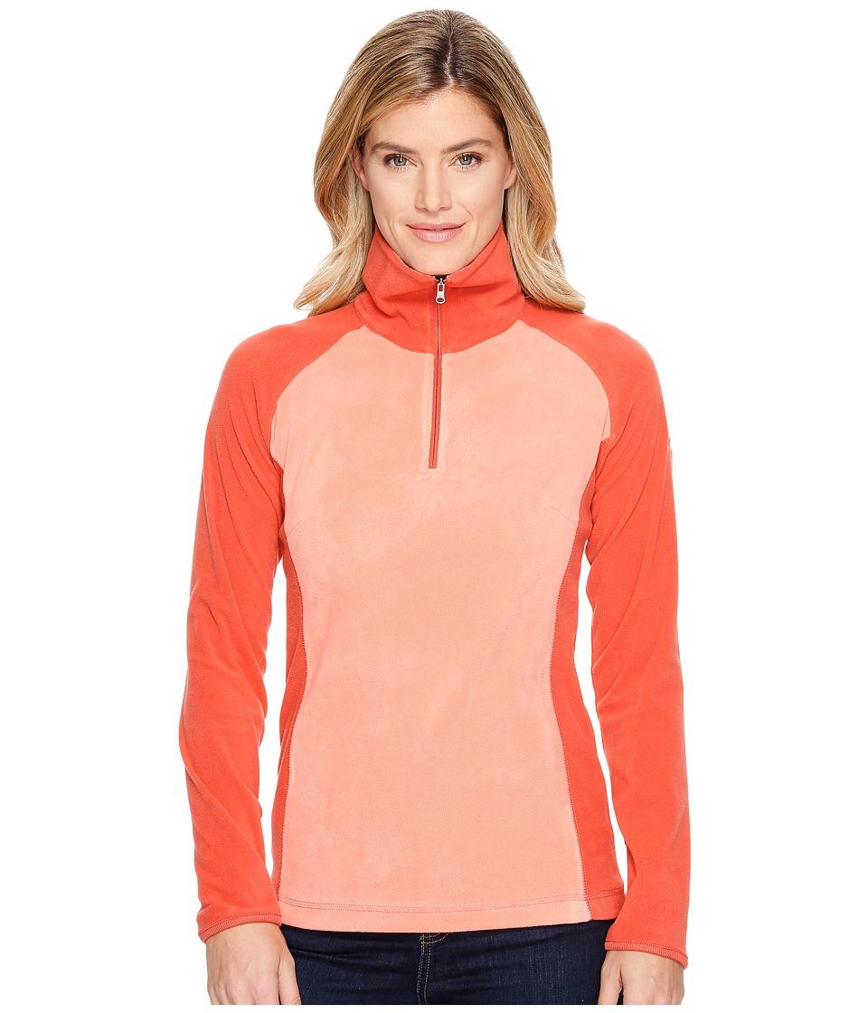 Columbia - Glacial Fleece III 1/2 Zip (Lychee/Coral) Women's Coat