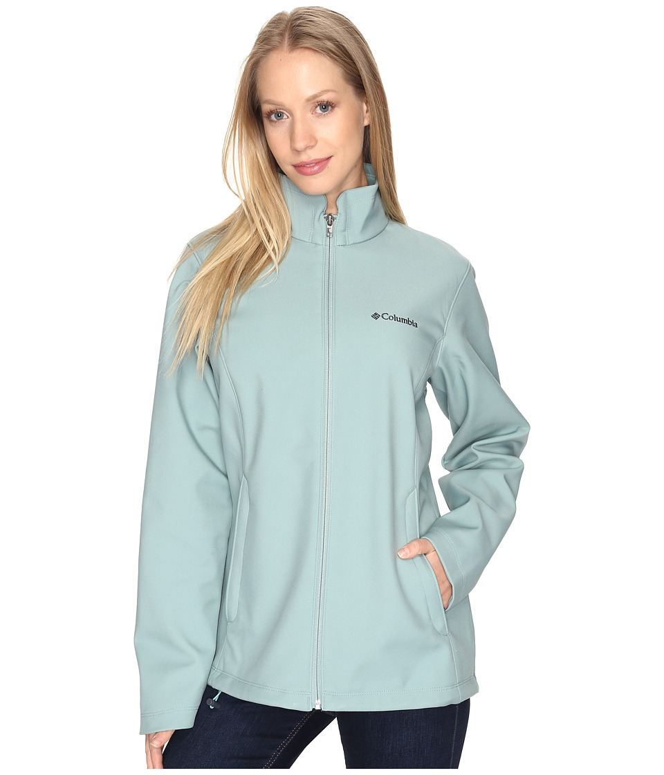 Columbia - Kruser Ridge Softshell (Dusty Green) Women's Coat