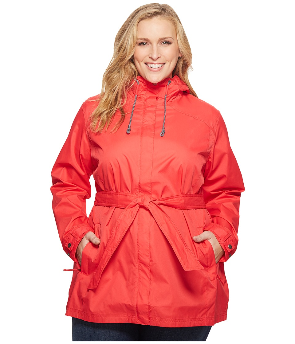 Columbia Plus Size Pardon My Trenchtm Rain Jacket (Red Camellia) Women