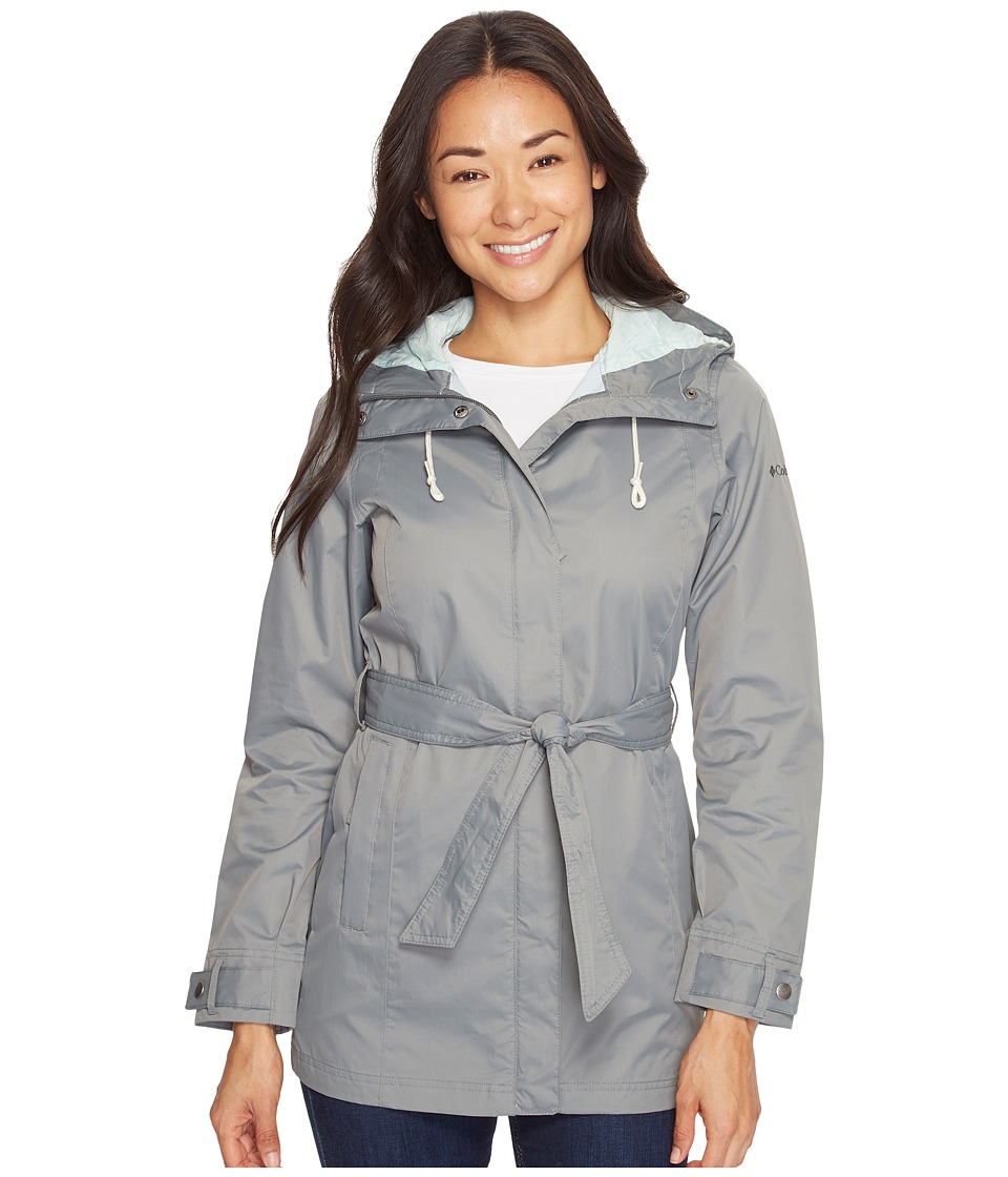 Columbia - Pardon My Trench Rain Jacket (Sedona Sage 2) Women's Coat