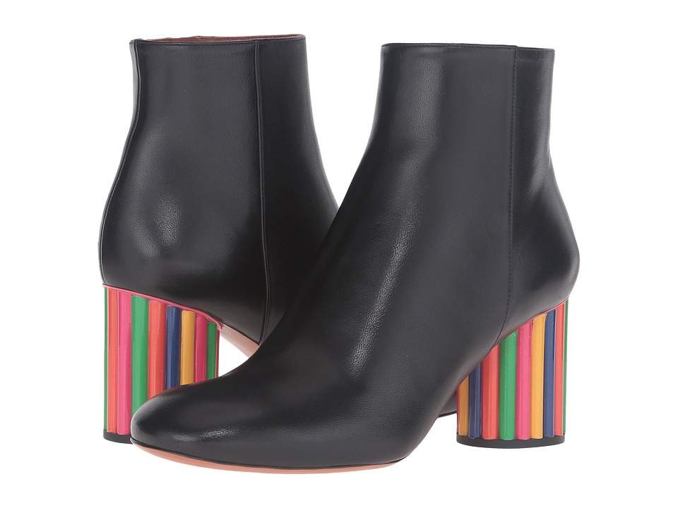 Missoni - Color Block Ankle Boot (Nero) Women's Maryjane Shoes