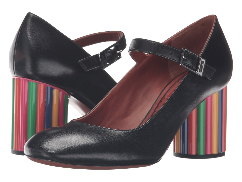 Missoni Color Block Mary Jane Nero Womens Maryjane Shoes