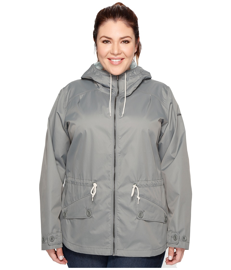 Columbia - Plus Size Regretless Jacket (Sedona Sage) Women's Coat