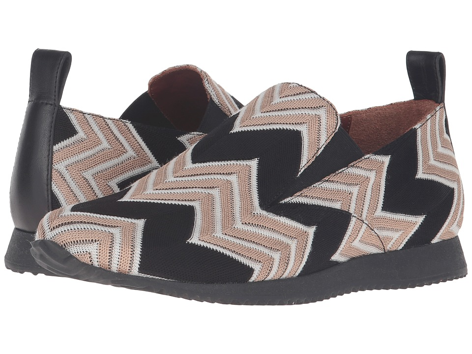 Missoni - Printed Slip-On Sneaker (Beige) Women's Slip on Shoes