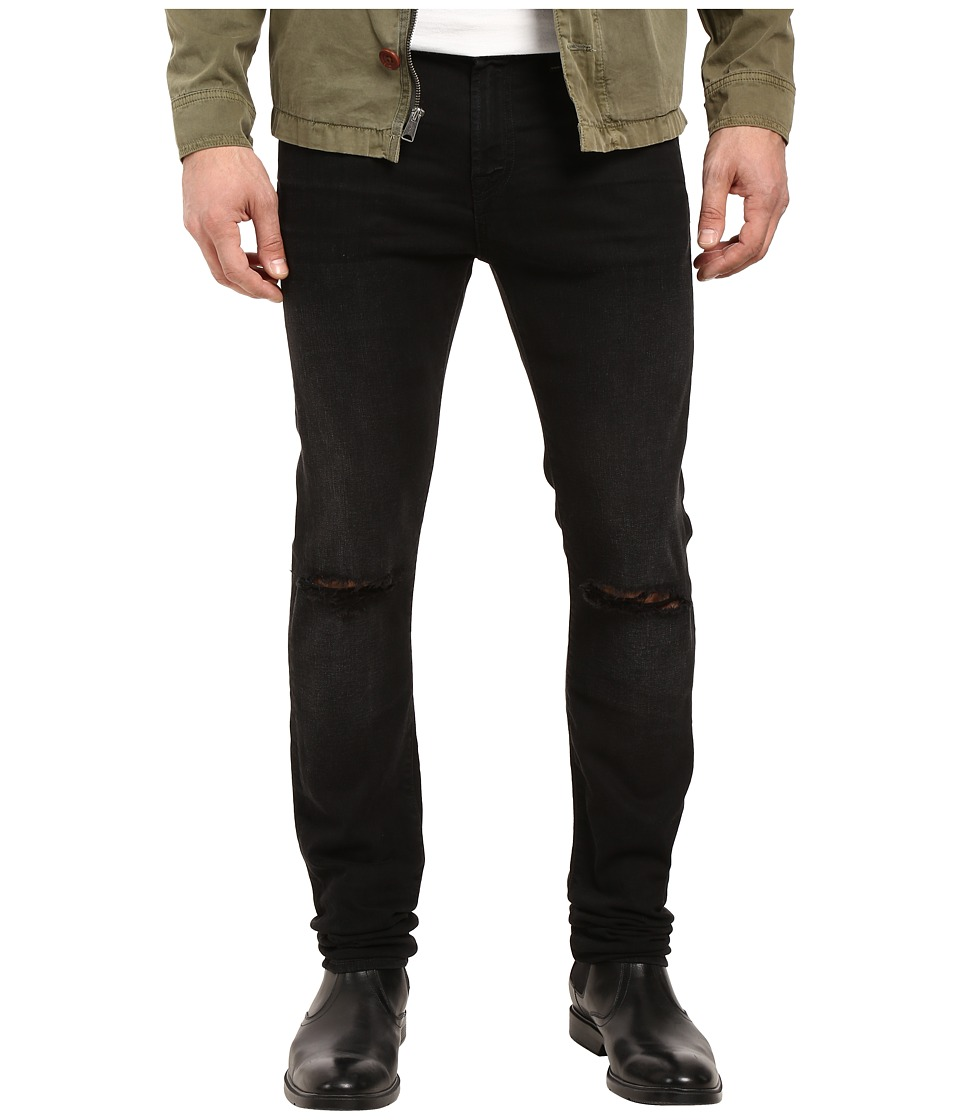 7 For All Mankind - Paxtyn w/ Clean Pocket in Indie Black (Indie Black) Men's Jeans