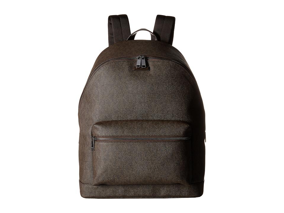 Michael Kors - Jet Set Backpack (Brown) Backpack Bags