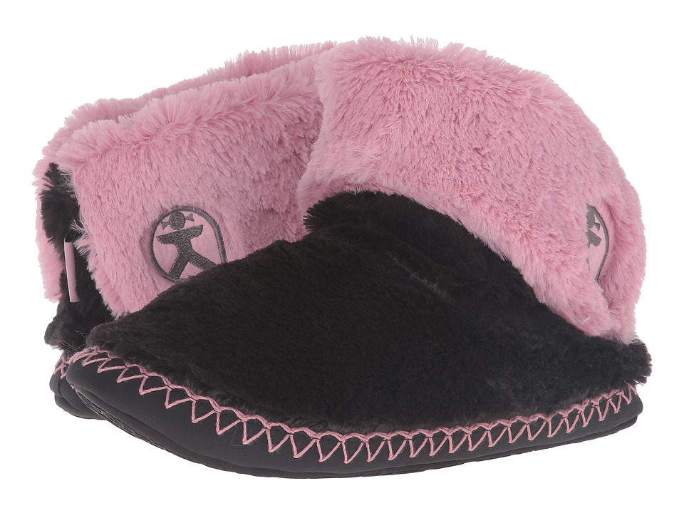 Bedroom Athletics - Audrey (Charcoal/Dusky Pink) Women's Slippers