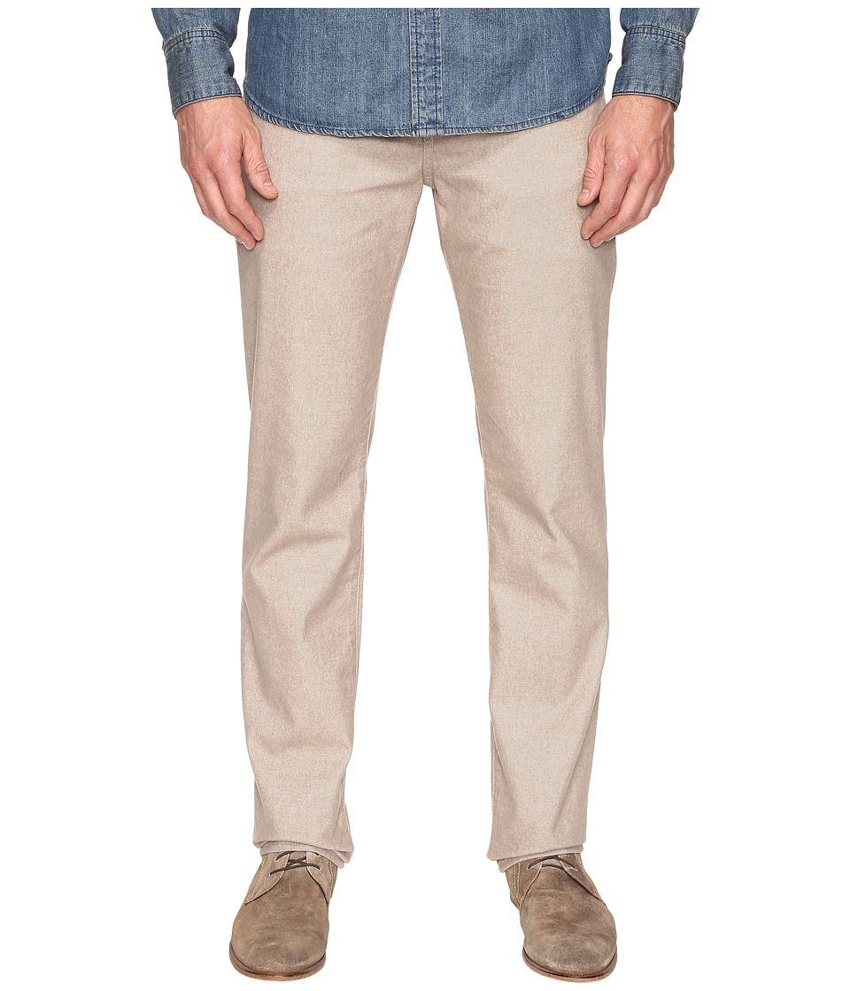 7 For All Mankind - Slimmy w/ Clean Pocket in Brushed Melange Tan (Brushed Melange Tan) Men's Jeans
