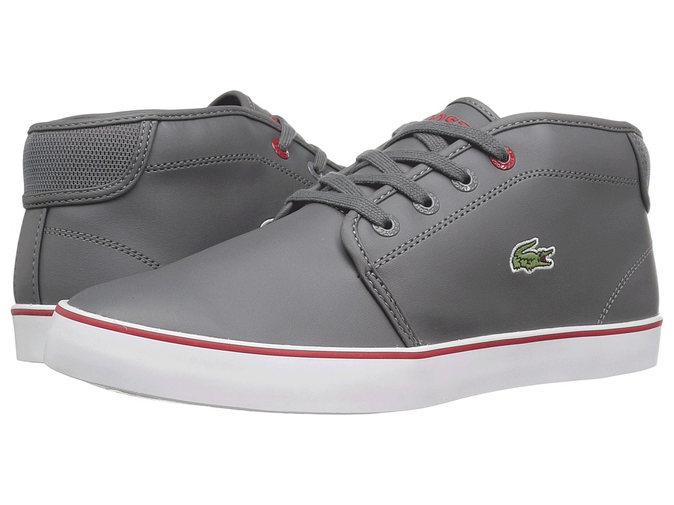 Lacoste Kids - Ampthill 316 2 SPJ (Little Kid/Big Kid) (Dark Grey) Kid's Shoes