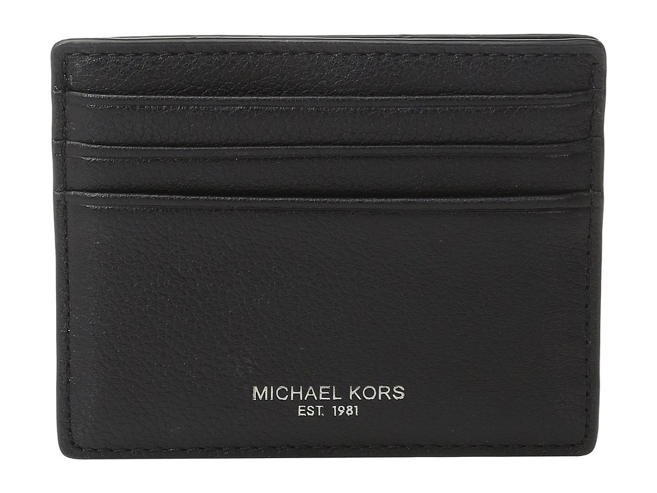 Michael Kors - Bryant Tall Card Case (Black) Credit card Wallet