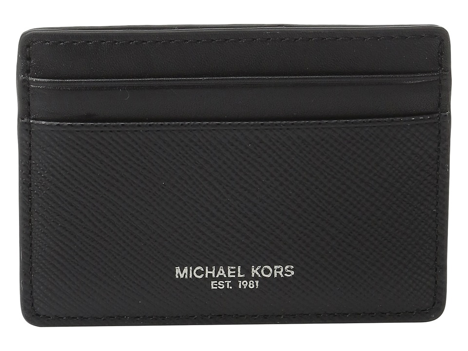 Michael Kors - Harrison Card Case (Black) Credit card Wallet