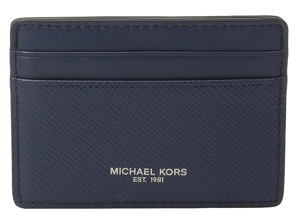 Michael Kors - Harrison Card Case (Navy) Credit card Wallet