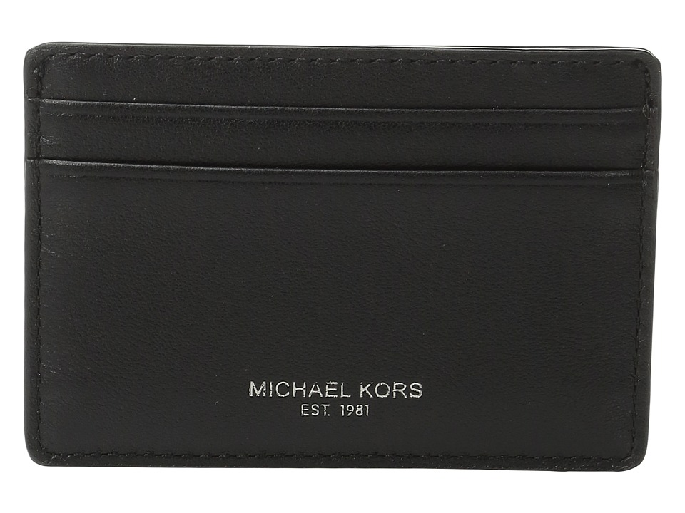 Michael Kors - Owen Card Case (Black) Credit card Wallet