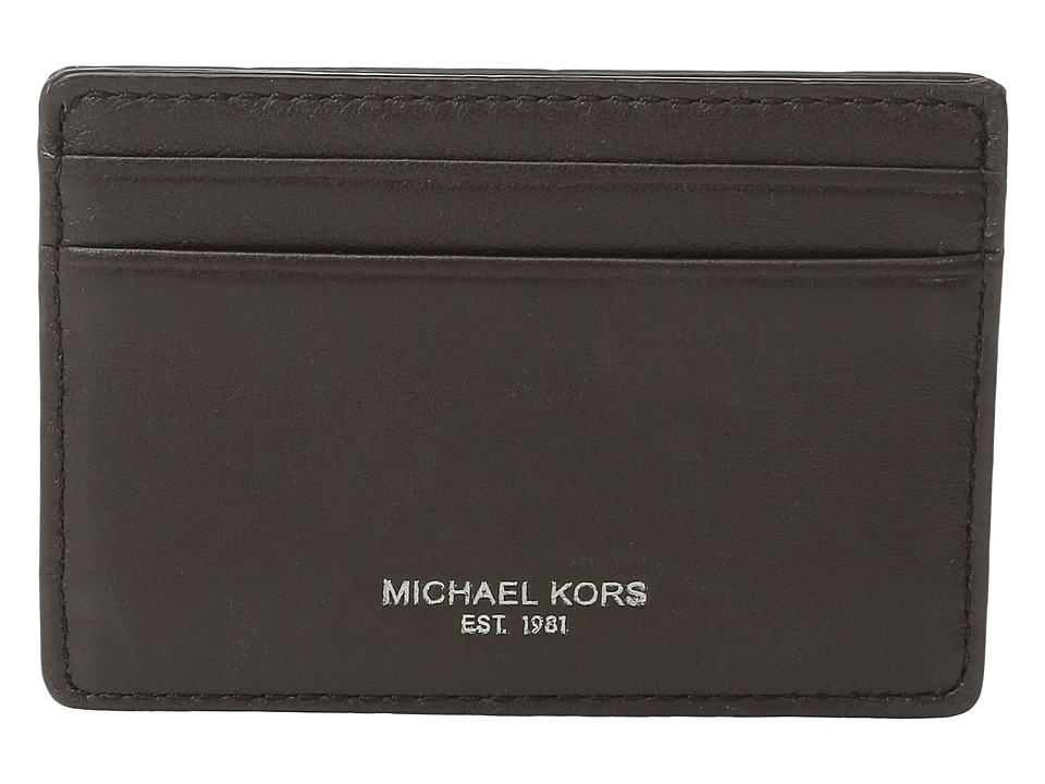 Michael Kors - Owen Card Case (Brown) Credit card Wallet