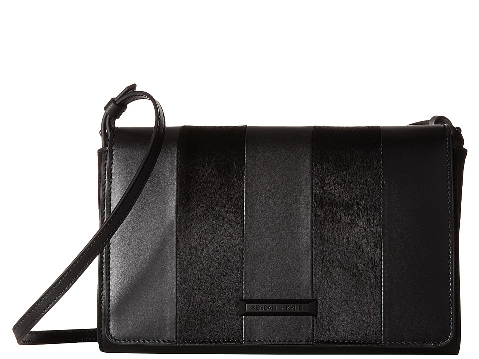 KENDALL + KYLIE - Bobino Crossbody (Black) Cross Body Handbags