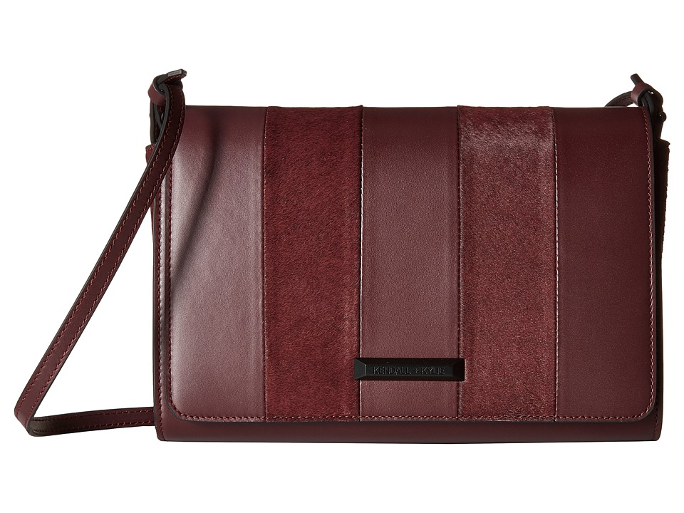 KENDALL + KYLIE - Bobino Crossbody (Red Plum) Cross Body Handbags