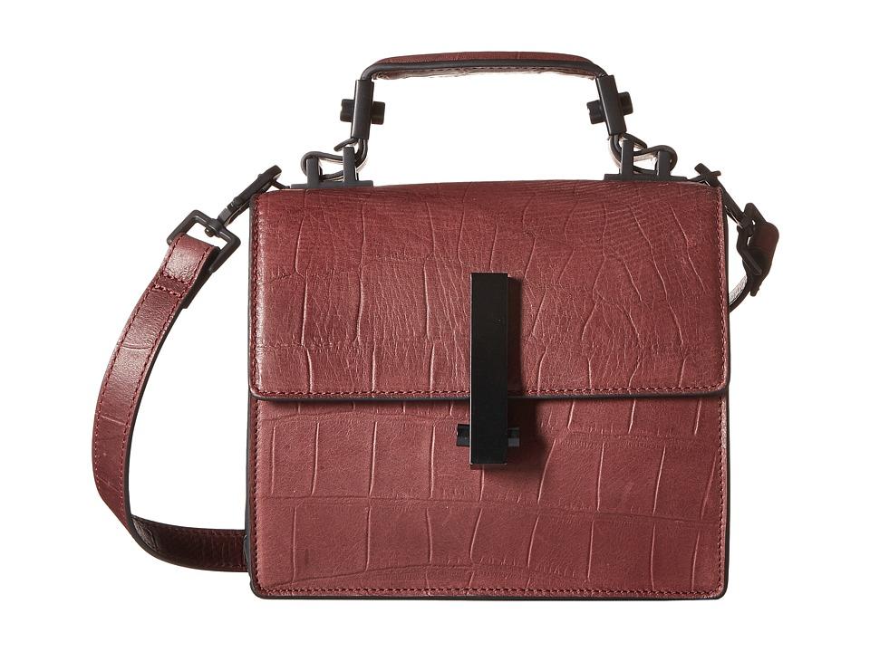 KENDALL + KYLIE - Minato Mini Crossbody (Red Plum) Cross Body Handbags
