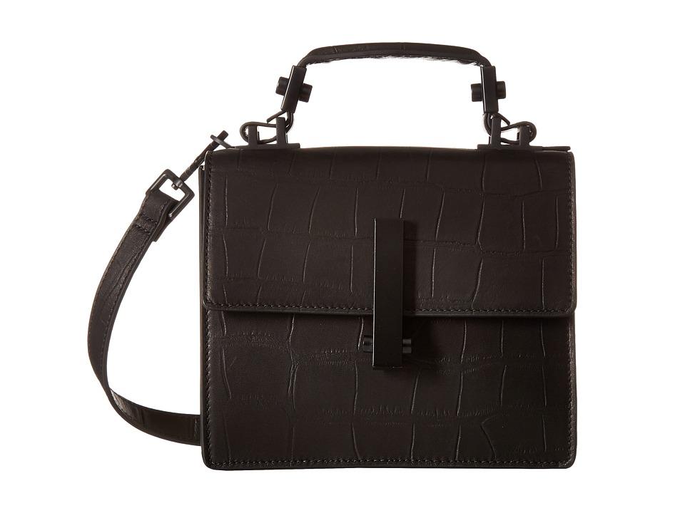 KENDALL + KYLIE - Minato Mini Crossbody (Black/Ivory) Cross Body Handbags