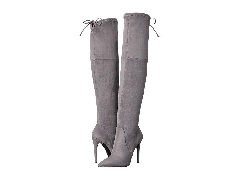 GUESS - Akera (Gray) Women's Boots