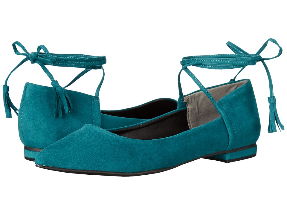 GUESS - Vida (Blue) Women's Flat Shoes