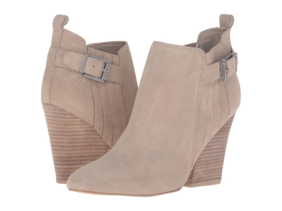 GUESS - Nicolo (Beige) Women's Boots