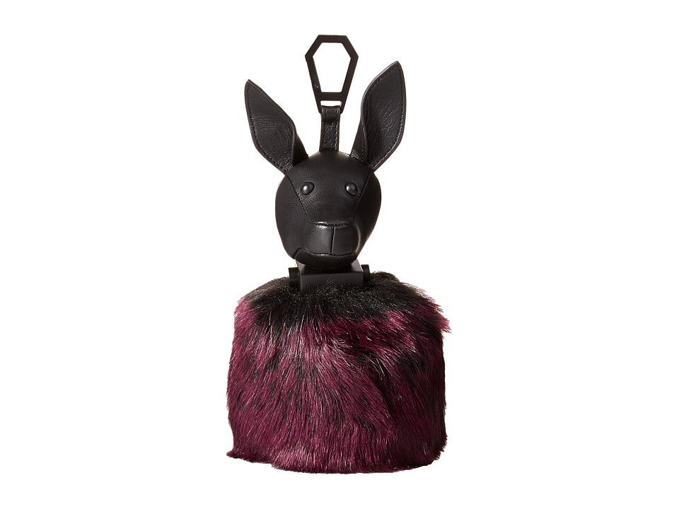 KENDALL + KYLIE - Bambi Black Key Fob (Red Plum) Wallet