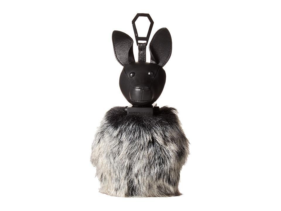 KENDALL + KYLIE - Bambi Black Key Fob (Black/Grey) Wallet