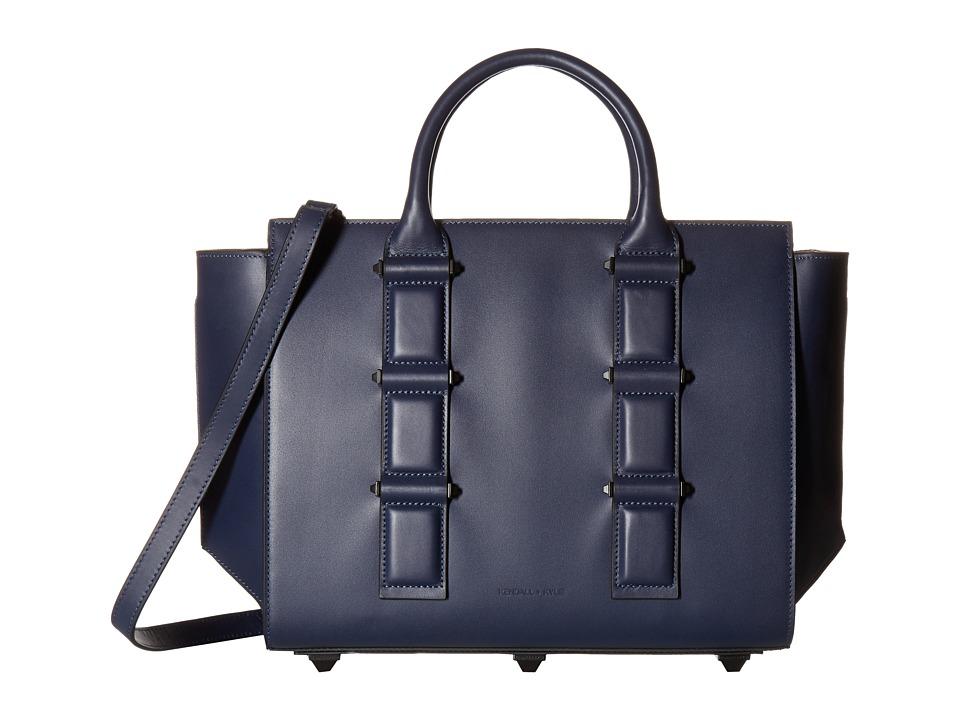 KENDALL + KYLIE - Katherine Tote (Navy) Tote Handbags