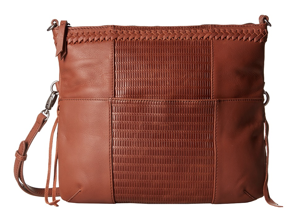Lucky Brand - Noah Fold-Over Crossbody (Brandy) Cross Body Handbags
