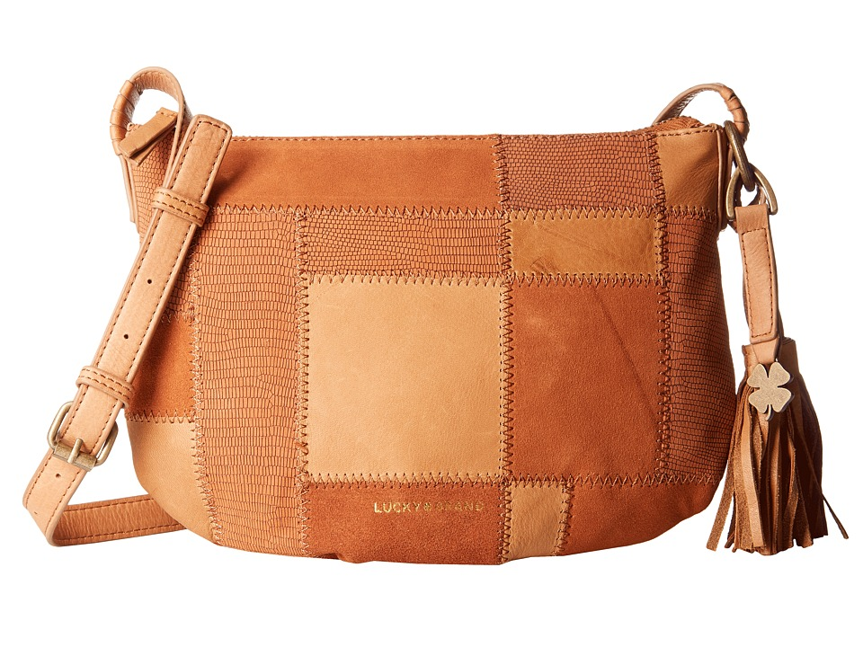 Lucky Brand - Jade Crossbody (Tobacco) Cross Body Handbags