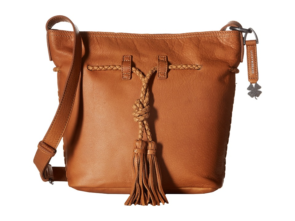 Lucky Brand - Shadow Crossbody Bucket (Tobacco) Cross Body Handbags