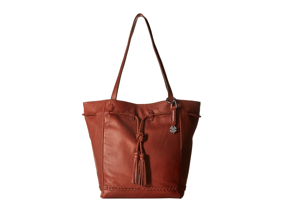 Lucky Brand - Shadow Tote (Brandy) Tote Handbags