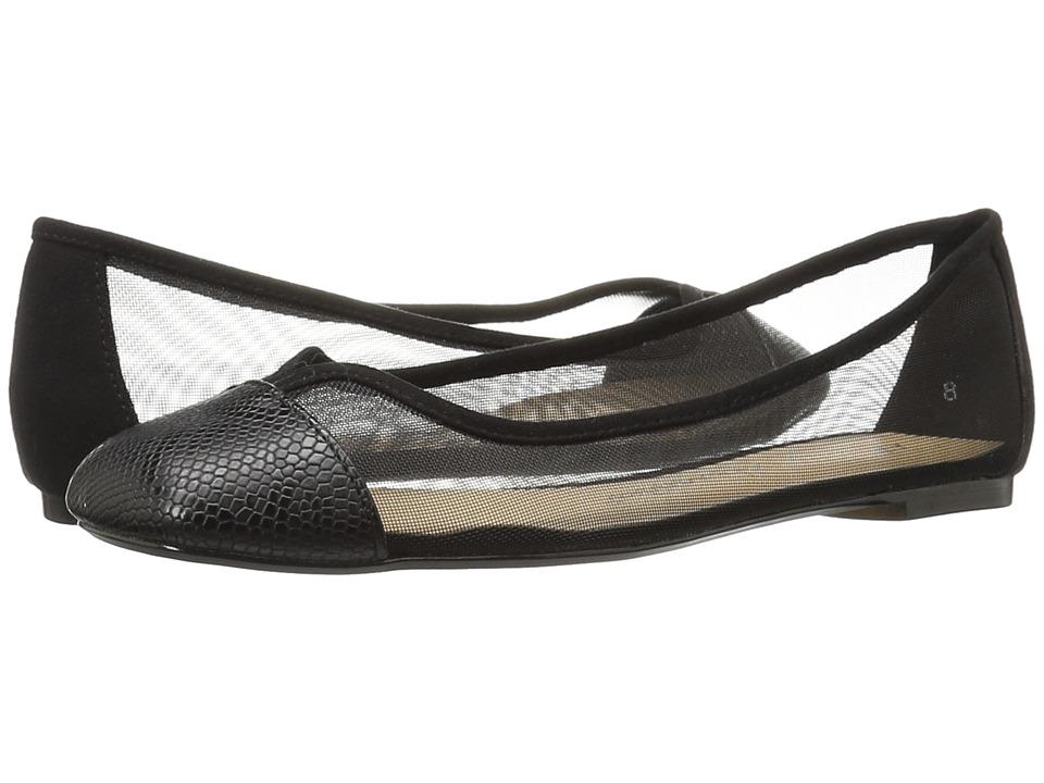 Athena Alexander - Alanna (Black Snake) Women's Flat Shoes