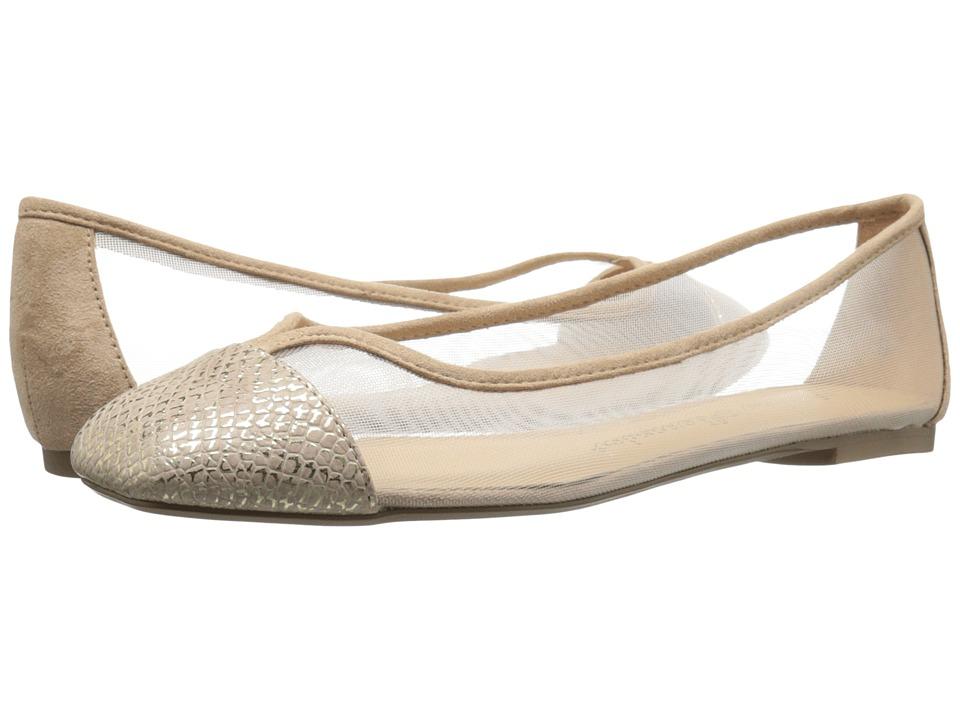 Athena Alexander Alanna Gold Snake Womens Flat Shoes