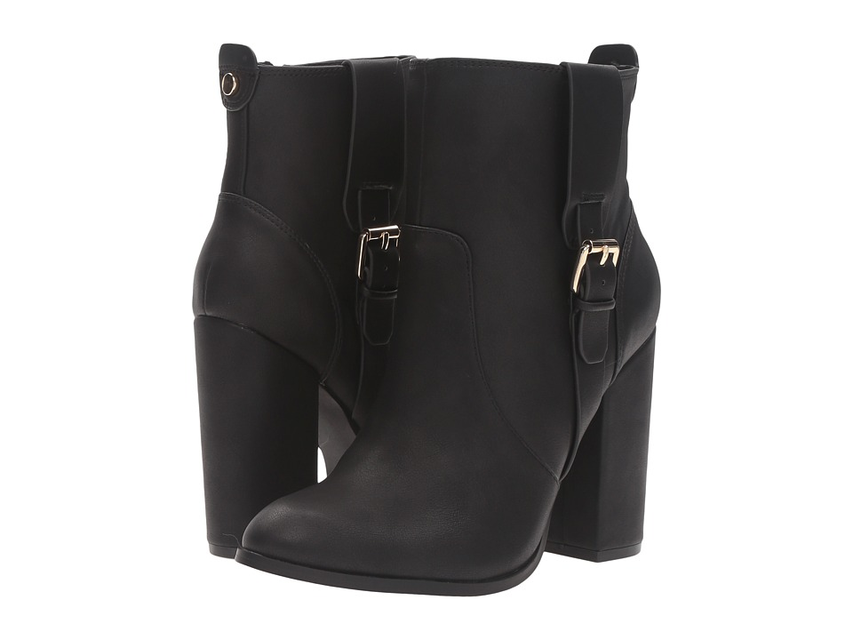 Athena Alexander - Layla (Black Leather) Women's Boots